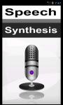 Speech Synthesis screenshot 1/4