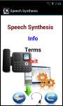 Speech Synthesis screenshot 2/4