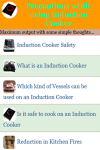 Precautions while using Induction Cooker screenshot 3/4