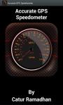 Accurate GPS Speedometer screenshot 1/6