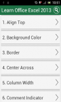 MS Excel 2013 Tutorial screenshot 1/3