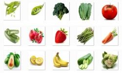 Vegetables Onet Classic Game screenshot 1/2