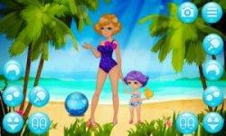 Mother and Daughter - Beach Girls Dress Up screenshot 2/3