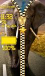 Elephant Zipper Lock Screen Free screenshot 5/6