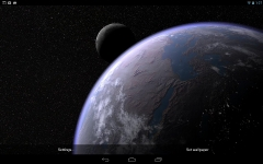 Earth and Moon in HD Gyro 3D PRO absolute screenshot 5/6