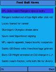 Football News - Free screenshot 2/2