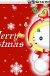 Hello Kitty Christmas Cute Live Wallpaper screenshot 1/4