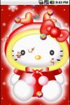 Hello Kitty Christmas Cute Live Wallpaper screenshot 3/4