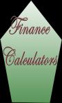 Finance Calculators v-1 screenshot 1/3
