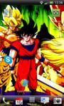 DragonBall Goku Water Effec Lwp X screenshot 1/6