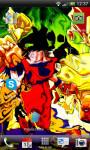 DragonBall Goku Water Effec Lwp X screenshot 2/6