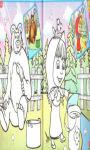 Marsha and The Bear Coloring Book Page screenshot 1/3