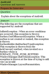 Android Interview Questions and Answers screenshot 2/3