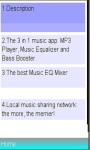 Equalizer music booster player / Songs screenshot 1/1