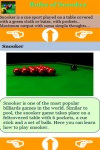 Rules of Snooker Game screenshot 3/3