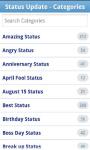 New Facebook Funny Status screenshot 1/6