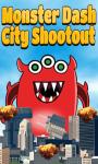 Monster Dash City Shootout Game screenshot 1/1