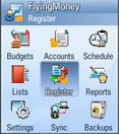 Flying Money Manager screenshot 1/1