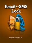 Email SMS Lock Blackberry screenshot 1/5