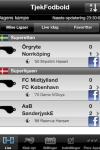 Tjek Fodbold screenshot 1/1