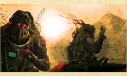 Warrior Sci-fi Wallpapers screenshot 2/5