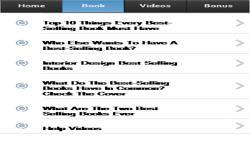 Best Selling Books App screenshot 2/3