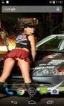 Girls And Sport Cars Live Wallpaper screenshot 1/4