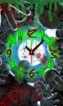 Zombie Face Alarm Clock LWP screenshot 4/4