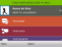Blaast Messenger en español screenshot 1/6
