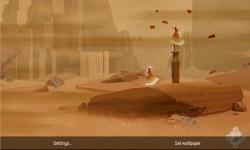 Journey Through Sand Storm LWP screenshot 2/4