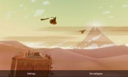 Journey Through Sand Storm LWP screenshot 3/4