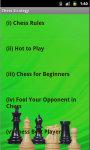Chess Strategy N Hints screenshot 3/3