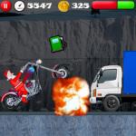 Santa Stunt Rider screenshot 2/3