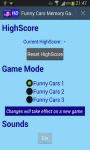 Funny Cars Memory Game screenshot 4/4