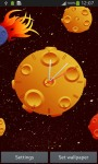 Clock with Asteroids screenshot 2/6