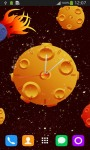 Clock with Asteroids screenshot 5/6