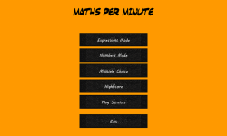 Maths Per Minute screenshot 1/6