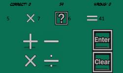 Maths Per Minute screenshot 2/6