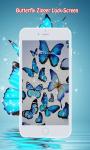 Butterfly Zipper Screen Lock screenshot 2/6