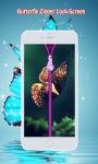 Butterfly Zipper Screen Lock screenshot 3/6