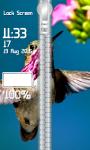 Birds Zipper Lock Screen screenshot 4/6