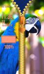 Birds Zipper Lock Screen screenshot 5/6