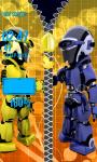 Robots Zipper Lock Screen screenshot 5/6