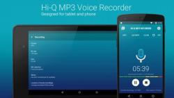 Hi Q MP3 Voice Recorder Pro modern screenshot 3/6