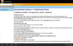 Woordenboek Italiaans Prisma alternate screenshot 4/5