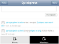 Quickpress Mobile screenshot 5/6