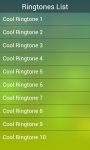 My Cool Ringtone screenshot 1/5