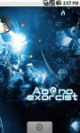 Blue Excorcist Live Wallpaper screenshot 2/5