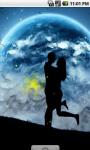 Romantic Couple Moon Light Live Wallpaper screenshot 1/4