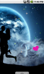 Romantic Couple Moon Light Live Wallpaper screenshot 3/4